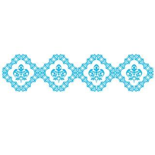 PLUS Blue Lace Deco Roller Refill