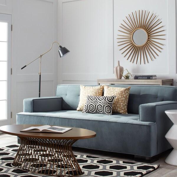 Bob Bella Cornflower Velvet Sofa