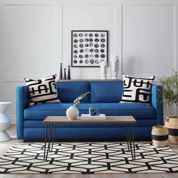 Hedy Klein Marine Blue Sofa