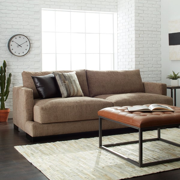 Siena Truffle Brown Sofa