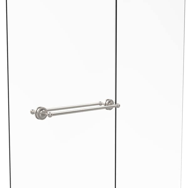 allied brass prestige regal collection 24 inch back to back shower door towel bar 18899420. Black Bedroom Furniture Sets. Home Design Ideas