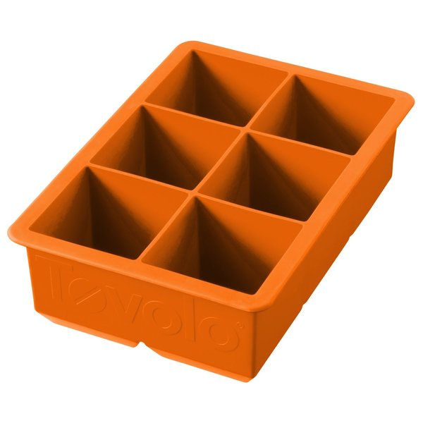 Tovolo 81-2487 Orange Peel Plastic King Cube Ice Tray