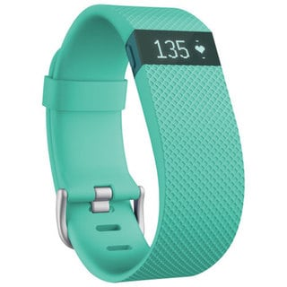 Fitbit Charge HR Refurbished Small Teal Wireless Activity Wristband