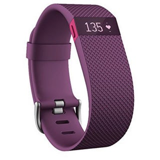 Fitbit Purple Rubber Wireless Activity Wristband