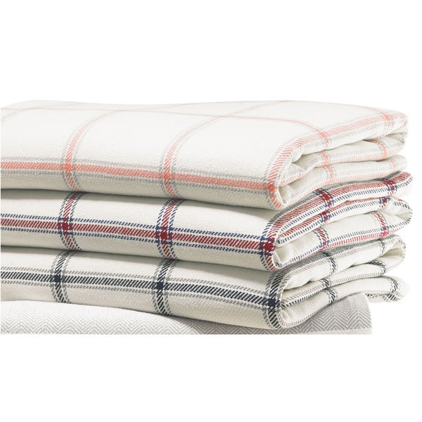Nautica Halstead Cotton Twill Blanket