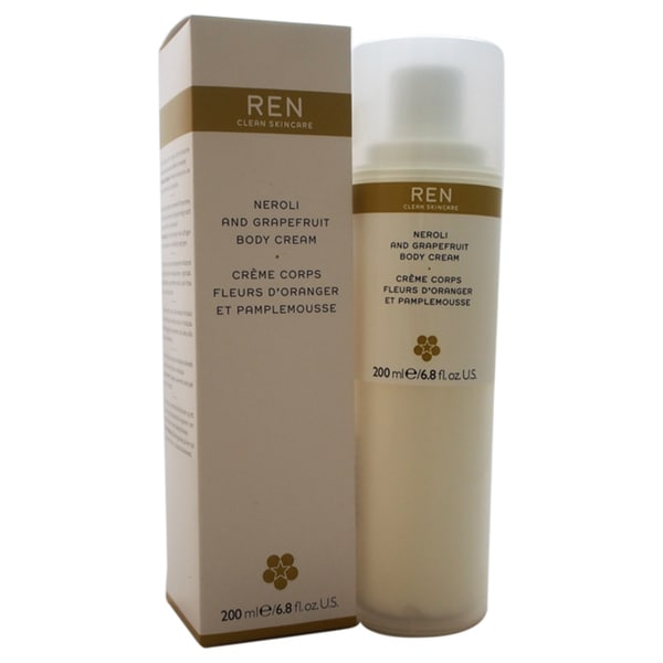 REN Neroli and Grapefruit 6.8-ounce Body Cream