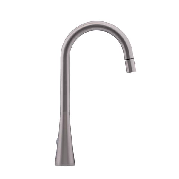 Hahn Contemporary Stainless Steel Single-lever Pull-down Kitchen Faucet