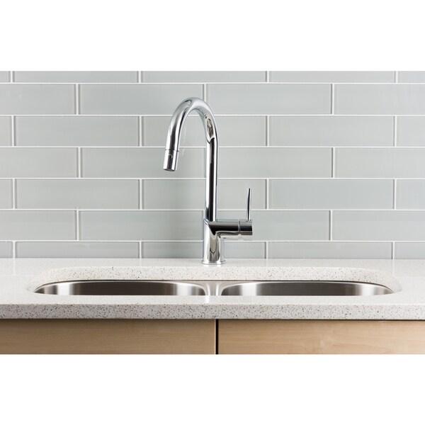 Hahn Ultra-modern Chrome Single-lever Pull-down Kitchen Faucet