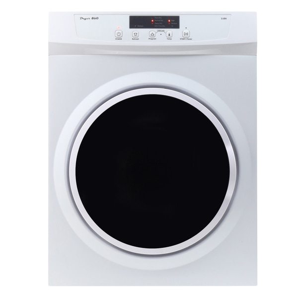 Equator White Stainless Steel/Metal Compact Dryer