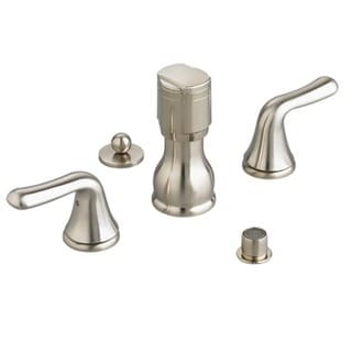 American Standard Colony Spray 3475.501.295 Satin Nickel Brass Deck Mount Bidet Faucet