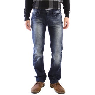 Dinamit Men's JT Dark-wash Straight-leg Jeans