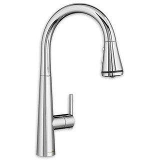 American Standard Edgewater 4932.300.002 Polished Chrome Pull-Down Kitchen Faucet with SelctFlo