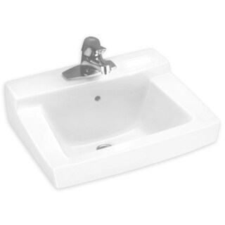 American Standard Declyn White Wall-mount Porcelain Bathroom Sink
