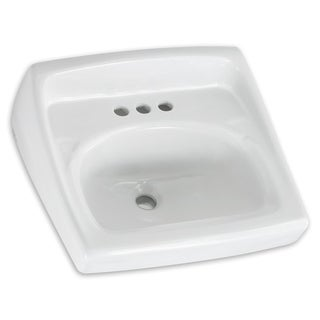 American Standard Lucerne White Porcelain Wall-mount Bathroom Sink