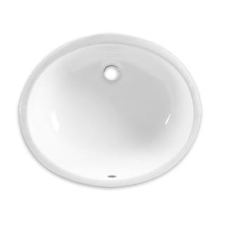 American Standard Ovalyn White Porcelain Undermount Bathroom Sink