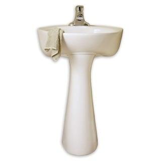 American Standard Cornice White Porcelain Free-standing Bathroom Sink
