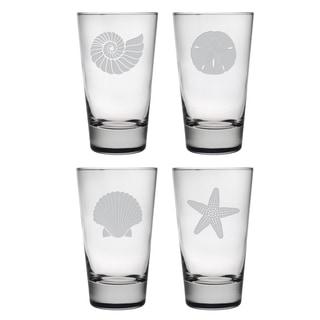 Seashore Hiball Glass (Set of 4)