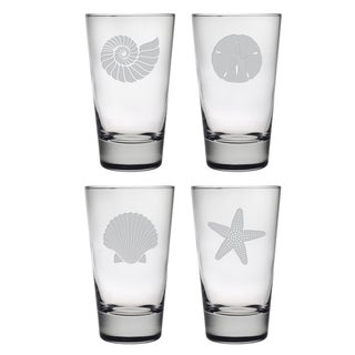 Seashore Hiball Glass (Set of 4)