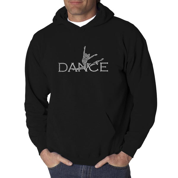 Men's Dancer Cotton and Polyester Hooded Sweatshirt