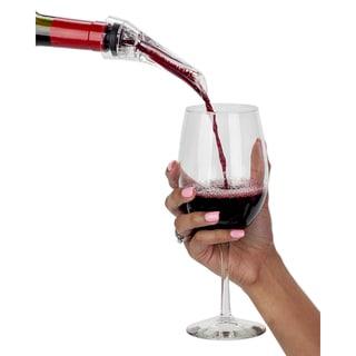 VinoNinja Wine Aerator, Pourer Spout, and Decanter