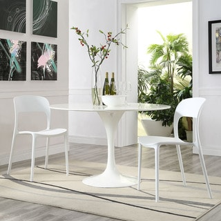 Hop Polypropylene Dining Side Chairs (Set of 2)