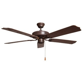 Outdoor Oil Rubbed Bronze Finish Patio Fan