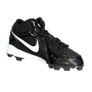 Nike Kids' MVP Keystone White Synthetic Baseball Cleats