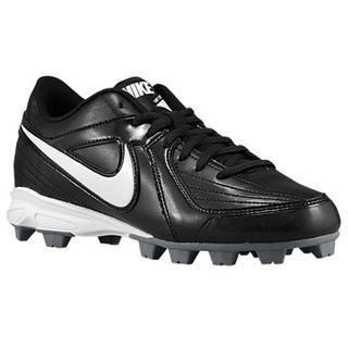 Nike Girl's Unify Keystone Black, White Synthetic Baseball Cleats