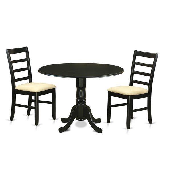 Blk Piece Dining Table Set Room Chairs Afbf 600 Winsome Lynden