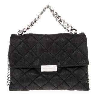 Stella McCartney Quilted Small Flap Shoulder Bag with Chain Handle