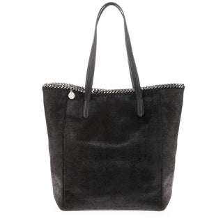 Stella McCartney Falabella Small Shimmer Faux Leather East-West Tote