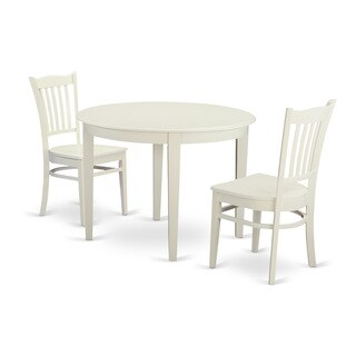 3-piece Dinette Table Set For 2-kitchen Table and 2 Dining Chairs