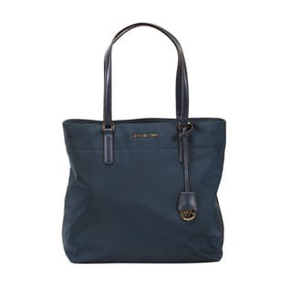 Michel Kors Navy Morgan Large Tote Bag