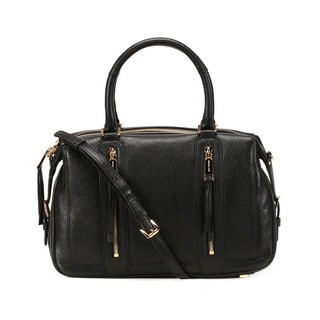 Michael Kors Black Julia Large Satchel Handbag