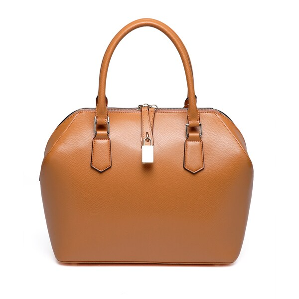 Vicenzo Leather Lucie Leather Satchel Handbag
