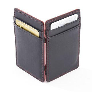 Royce Black Leather Bifold Magic Wallet