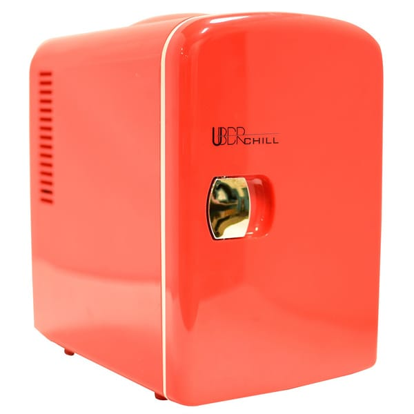 Uber Appliance Uber Chill 6-can Retro Personal Mini Fridge