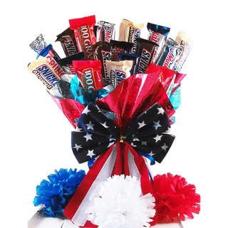 Independence Day Candy Bouquet