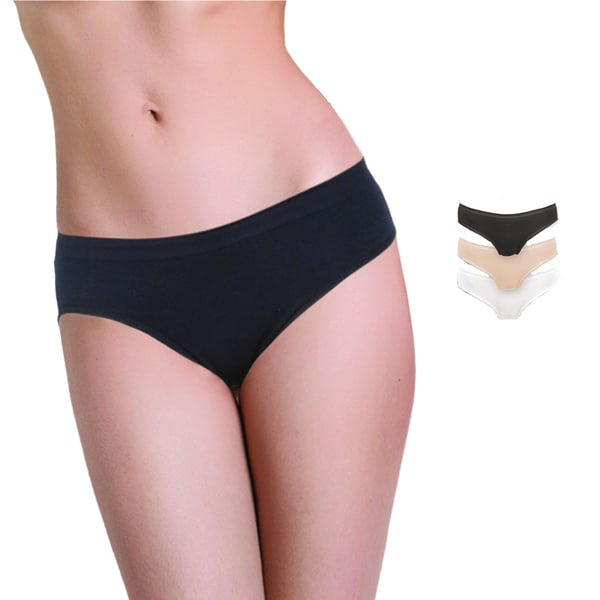 Miorre Soft Seamless Bikini-brief Panty (Pack of 3)
