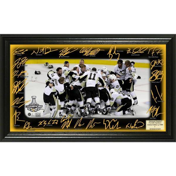 "2016 Stanley Cup Champions ""Celebration"" Signature Rink 19258642"