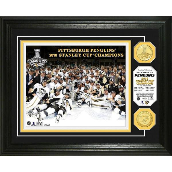 2016 Stanley Cup Champions  Bronze Coin Photo Mint 19258769