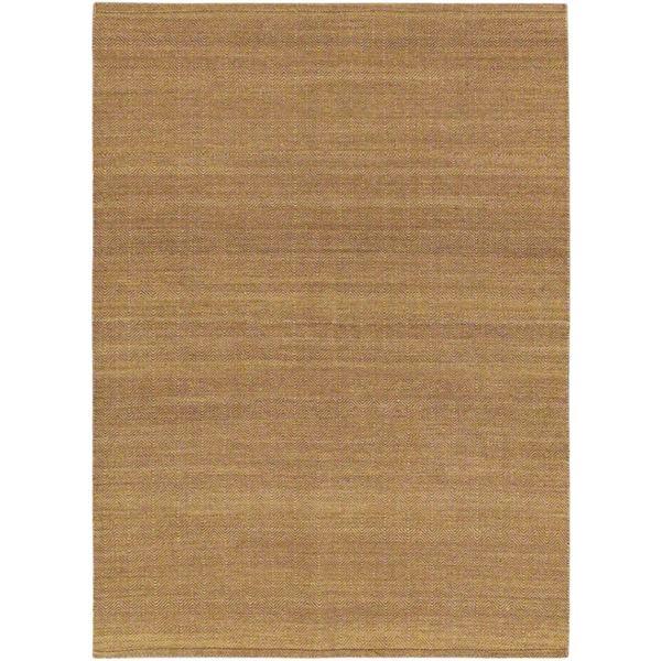 Ecarpetgallery Handwoven Natural Brown Wool Kilim Rug (5'7 x 7'8)