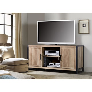 Homestar 2-door TV Stand with Metal Feet