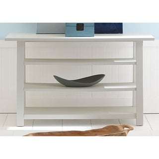 Summer House Oyster White Cottage Sofa Table