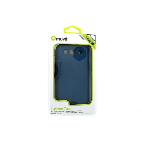 Muvit MUBMC0051 Fushion Blue Case for Samsung Galaxy S3 III