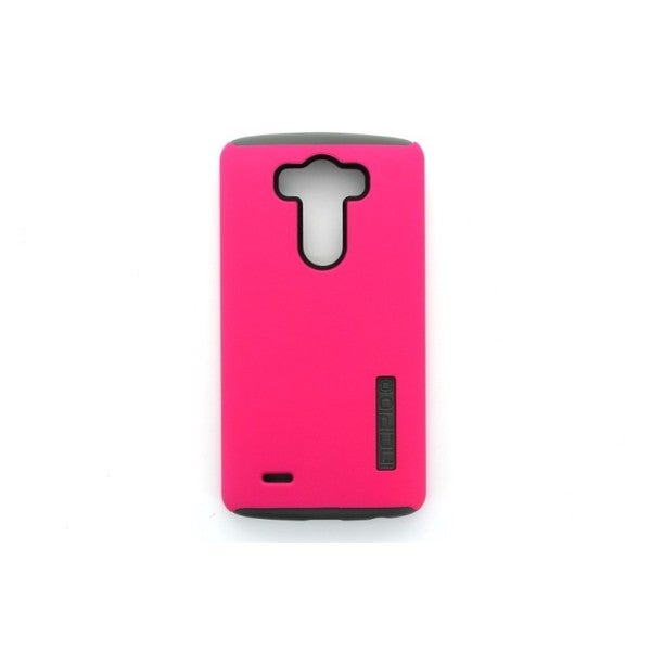 Incipio LG-238-PNK Pink and Grey DualPro Case Cover for LG G3