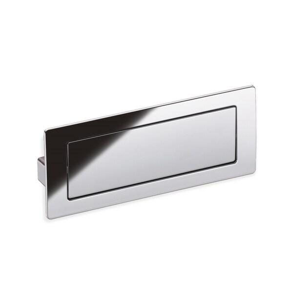 Schwinn Hardware 53355 Polished Chrome 128-millimeter Covered Flush Pull