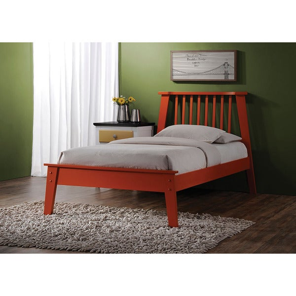 Marlton Orange Twin Bed