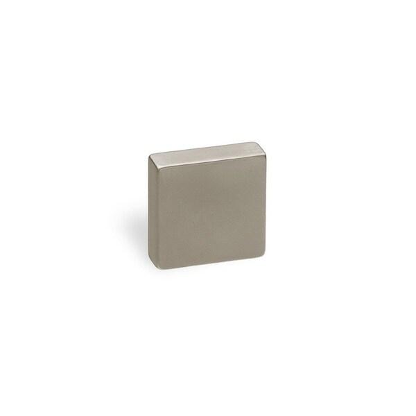Schwinn Hardware 2266 Satin Nickel 16-millimeter Square Knob