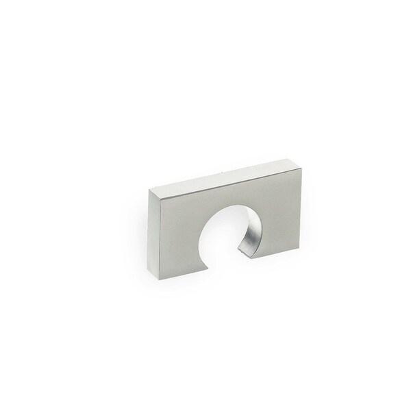 Schwinn Hardware 2398 Matte Chrome 32-millimeter Finger Pull Knob
